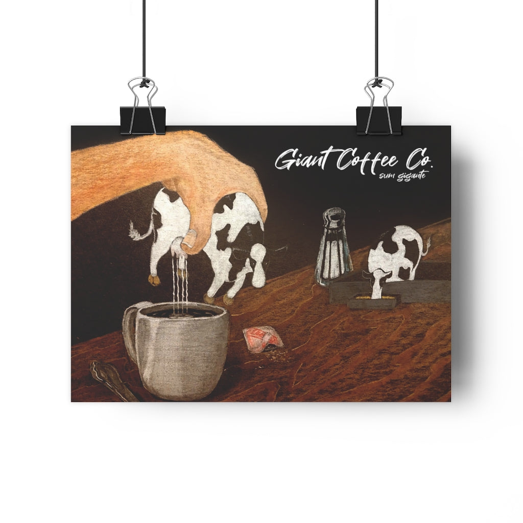 Giant Coffee Co Giclée Art Print