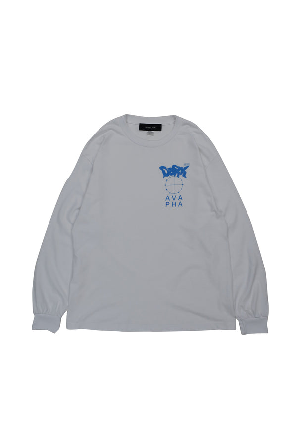 d××k LONG SLEEVE TEE / WHITE