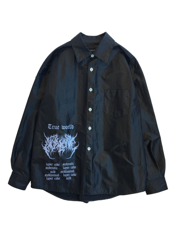 TRUE WORLD LACQUER SHIRT