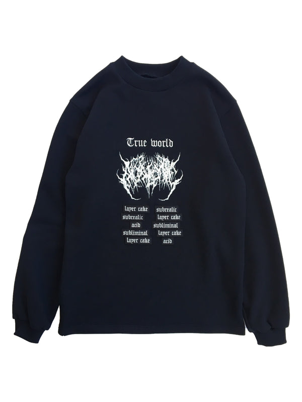 TRUE WORLD ACID CREW NECK SWEATSHIRT