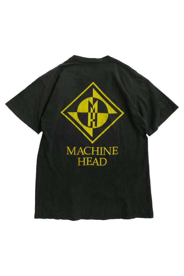 """MACHINE HEAD""  VINTAGE BAND TEE"