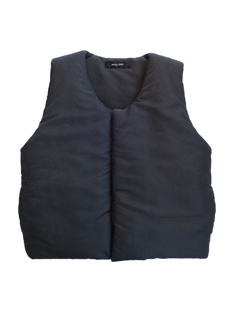 GUARD PUFF SULFIDE VEST / BLACK