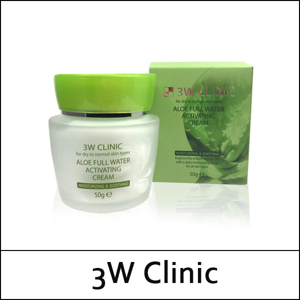 Aloe Full Water Activating Cream