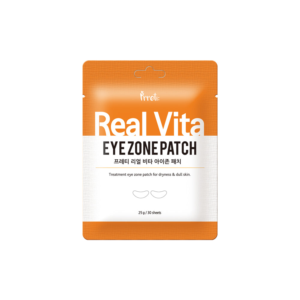 PRRETI Real Vita EYE ZONE PATCH 30sheets