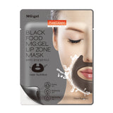 PUREDERM Black Food MG:gel Lip Zone Mask (1sheets)