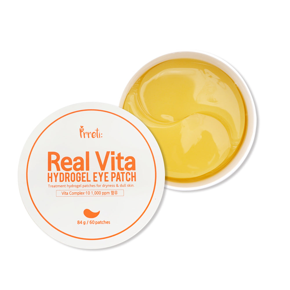 PRRETI Real Vita Hydrogel Eye Patch 60sheet