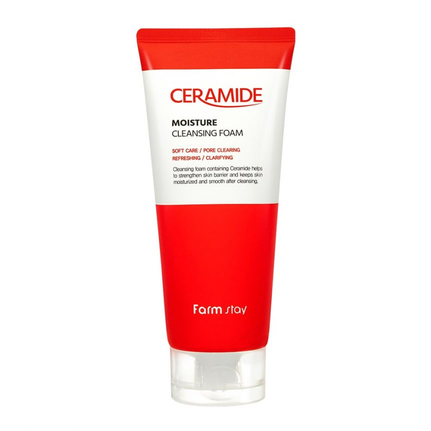FARMSTAY DERMACUBE ACNE SOLUTION CLEANSING FOAM