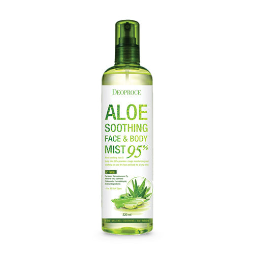 DEOPROCE ALOE SOOTHING FACE & BODY MIST 95%