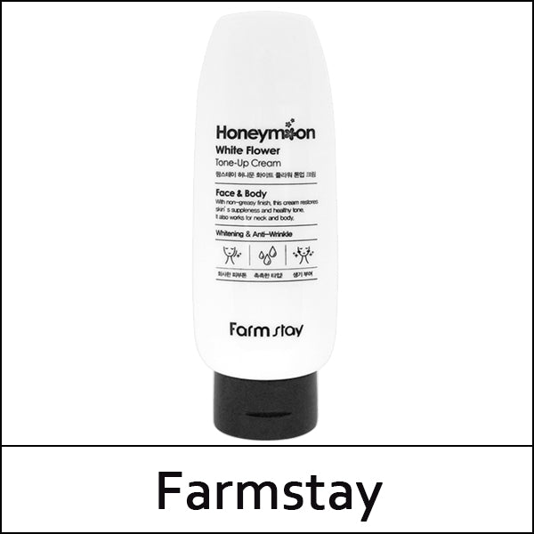 FARMSTAY HONEYMOON WHITE FLOWER TONE-UP CREAM