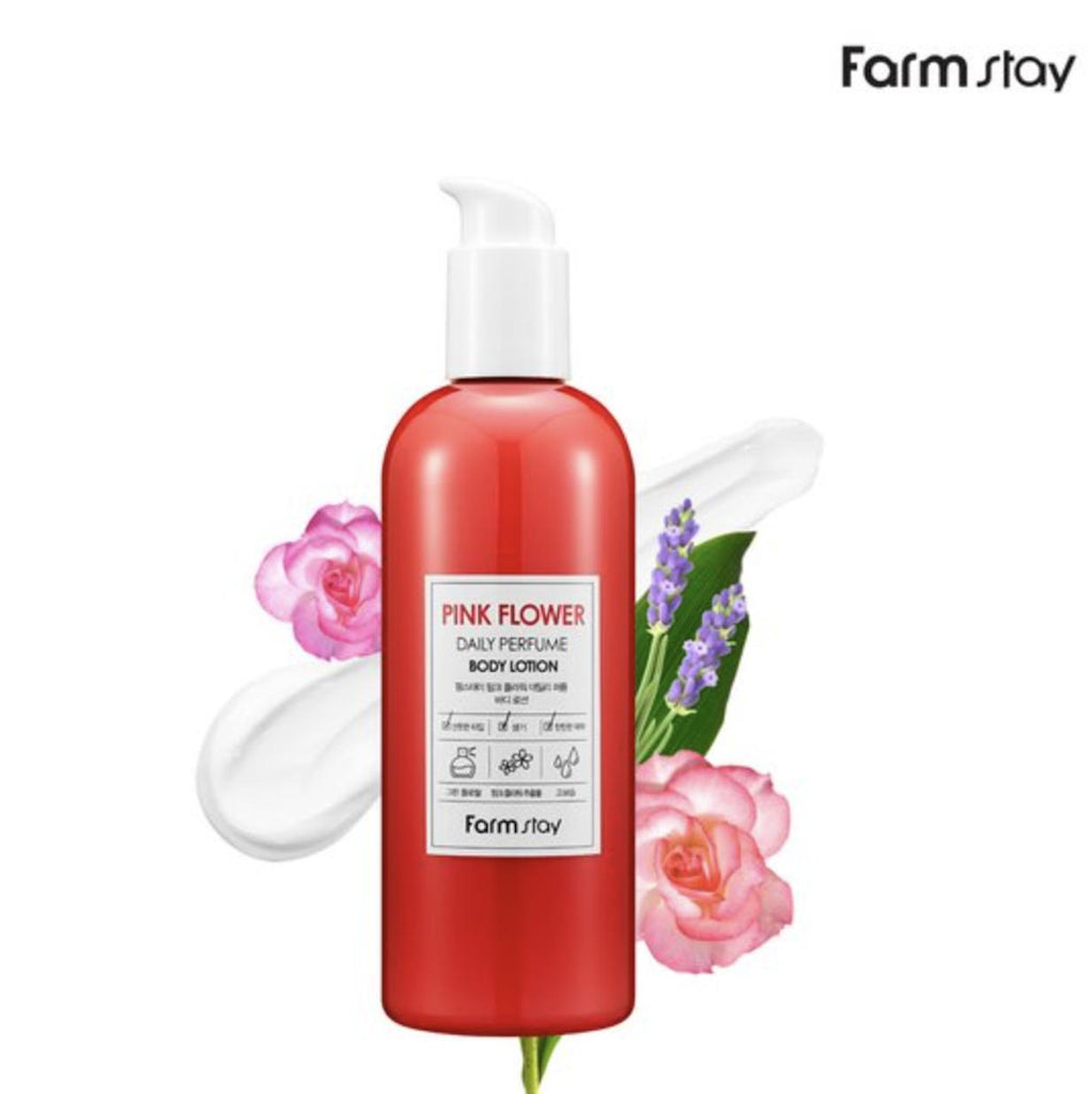 FARMSTAY DAILY PERFUME BODY LOTION(PINK FLOWER)