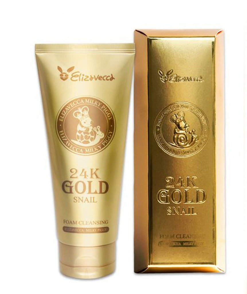 24k Gold Snail Cleansing Foam