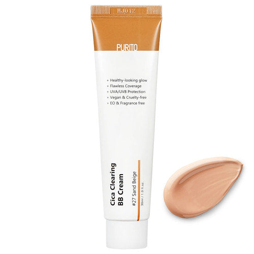 PURITO Cica Clearing BB Cream #27 Sand Beige