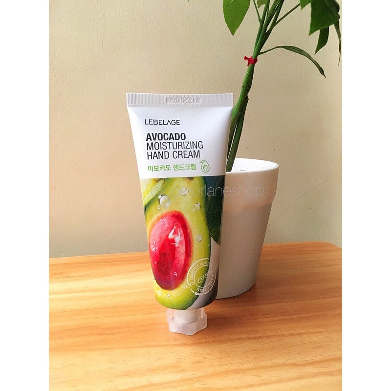 LEBELAGE AVOCADO MOISTURIZING HAND CREAM