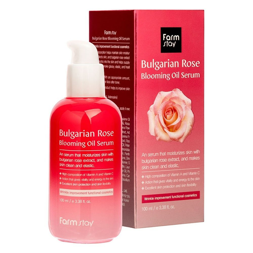FARMSTAY BULGARIAN ROSE BLOOMING OIL SERUM