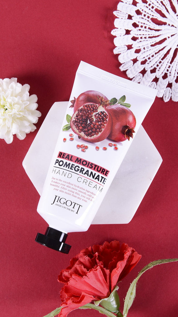 JIGOTT REAL MOISTURE POMEGRANATE HAND CREAM