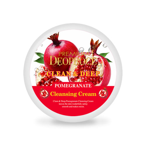 PREMIUM DEOPROCE CLEAN & DEEP POMEGRANATE CLEANSING CREAM 300g