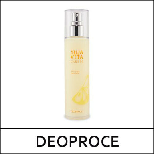 DEOPROCE YUJA VITA CARE 10 SOOTHING EMULSION 120ml