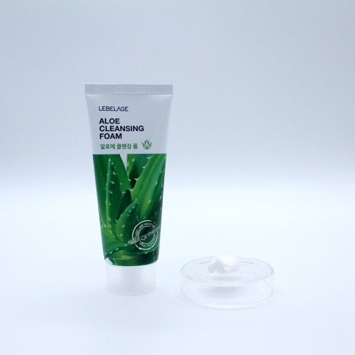 LEBELAGE CLEANSING FOAM 100ml -ALOE