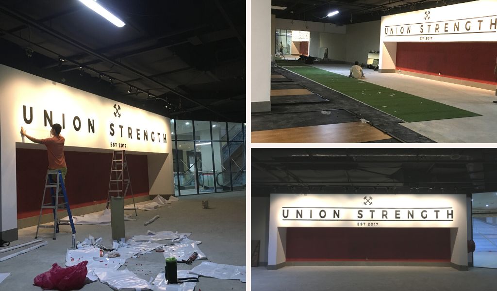 Construction Work in Union Strength