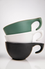 "Ceramic black ""DS"" cup - Dropshot Coffee"