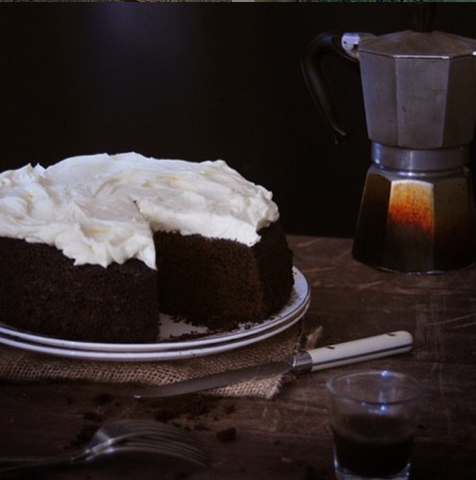 Chocolate Guinness cake whole