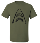 Sharkhead (Green) T-Shirt