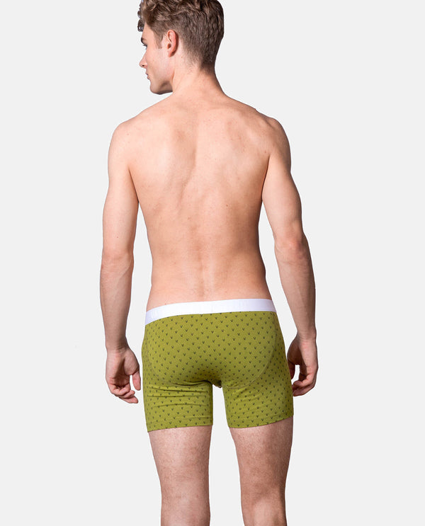 "Boxer Brief ""Classy Claus"" Green V"