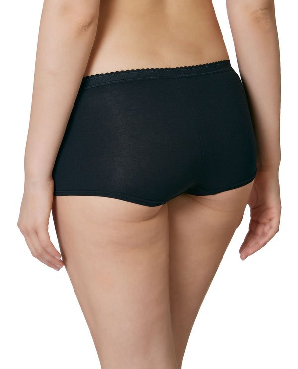 "Boy Short ""Easy Emma"" Schwarz - back"