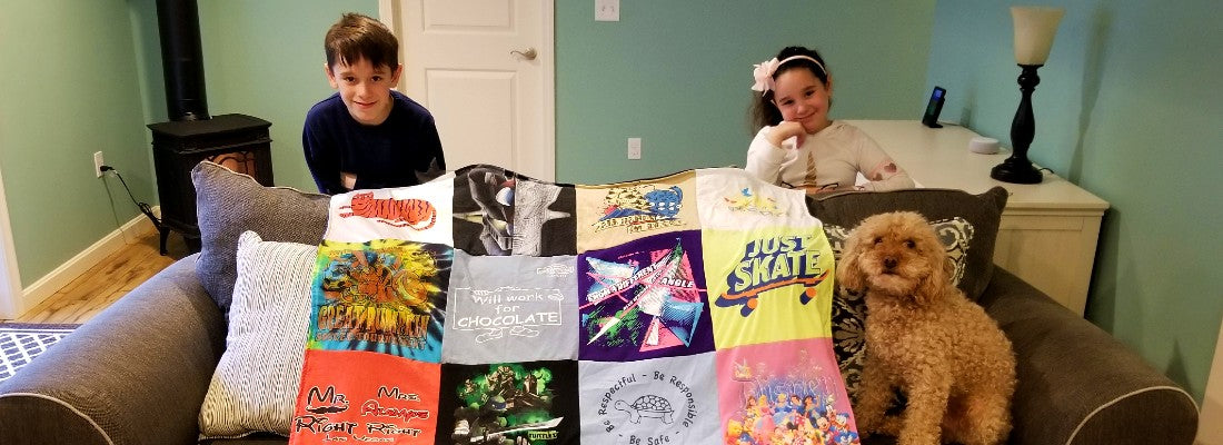 The Best 'Off To College' Gift – Memory Blanket