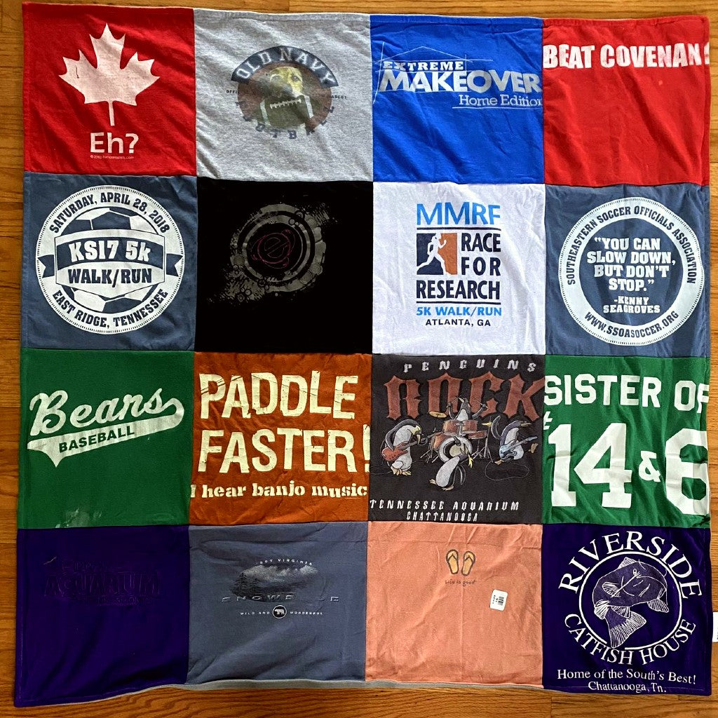 Double Sided Classic T-shirt Blanket