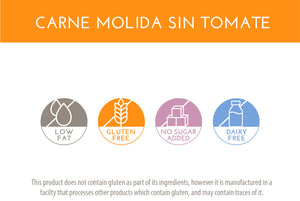 Carne Molida sin Tomate | Ground Beef w/o Tomato