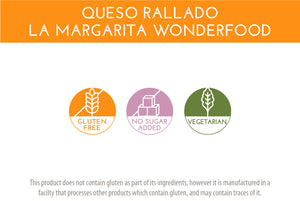 Queso Rallado La Margarita Wonderfood