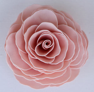 Soap Flower Vintage Rose