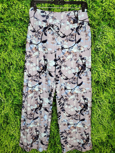 black and teal floral lounge pants bottoms | shop women's clothing clothes apparel online or in store boerne la te da boutique | a favorite of locals and san antonio visitors too