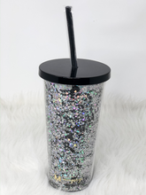 Load image into Gallery viewer, Starry Night Glitter Tumbler