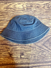 Load image into Gallery viewer, dark blue dark wash denim bucket hat fishing hat summer hat | shop women's clothing clothes apparel gifts accessories online or in store at boerne la te da boutique | a favorite of locals and san antonio visitors too