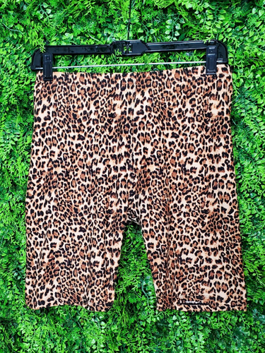 brown leopard print bike shorts | shop women's clothing clothes apparel online or in store boerne la te da boutique | a favorite of locals and san antonio visitors too