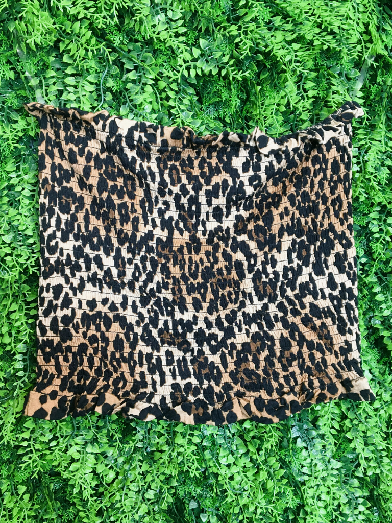 leopard print animal print tube top shirt blouse | shop women's clothing clothes apparel gifts accessories online or in store at boerne la te da boutique | a favorite of locals and san antonio visitors too