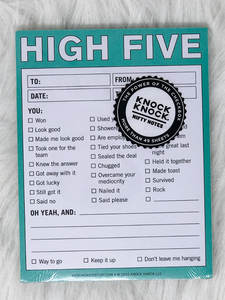 High Five Nifty Notes