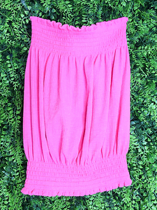 pink purple magenta ribbed tube top shirt blouse | shop women's clothing clothes apparel gifts accessories online or in store at boerne la te da boutique | a favorite of locals and san antonio visitors too