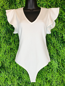 shop women's and girls' clothing clothes apparel gifts accessories jewelry online or in store at boerne la te da boutique | a favorite of locals and san antonio visitors too | best boerne boutiques | ruffle white bodysuit