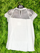 Load image into Gallery viewer, Sweetheart lace top | shop women's and girls' clothing clothes apparel gifts accessories jewelry online or in store at boerne la te da boutique | a favorite of locals and san antonio visitors too | best boerne boutiques