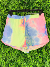 Load image into Gallery viewer, tie dye lounge shorts | shop women's clothing clothes apparel gifts accessories jewelry online or in store at boerne la te da boutique | a favorite of locals and san antonio visitors too