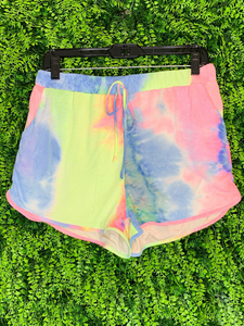 tie dye lounge shorts | shop women's clothing clothes apparel gifts accessories jewelry online or in store at boerne la te da boutique | a favorite of locals and san antonio visitors too