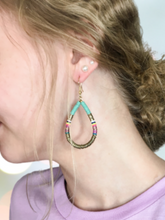 Load image into Gallery viewer, Bright, Light, & Fun Sequin Disc Earrings - 3 Colors!