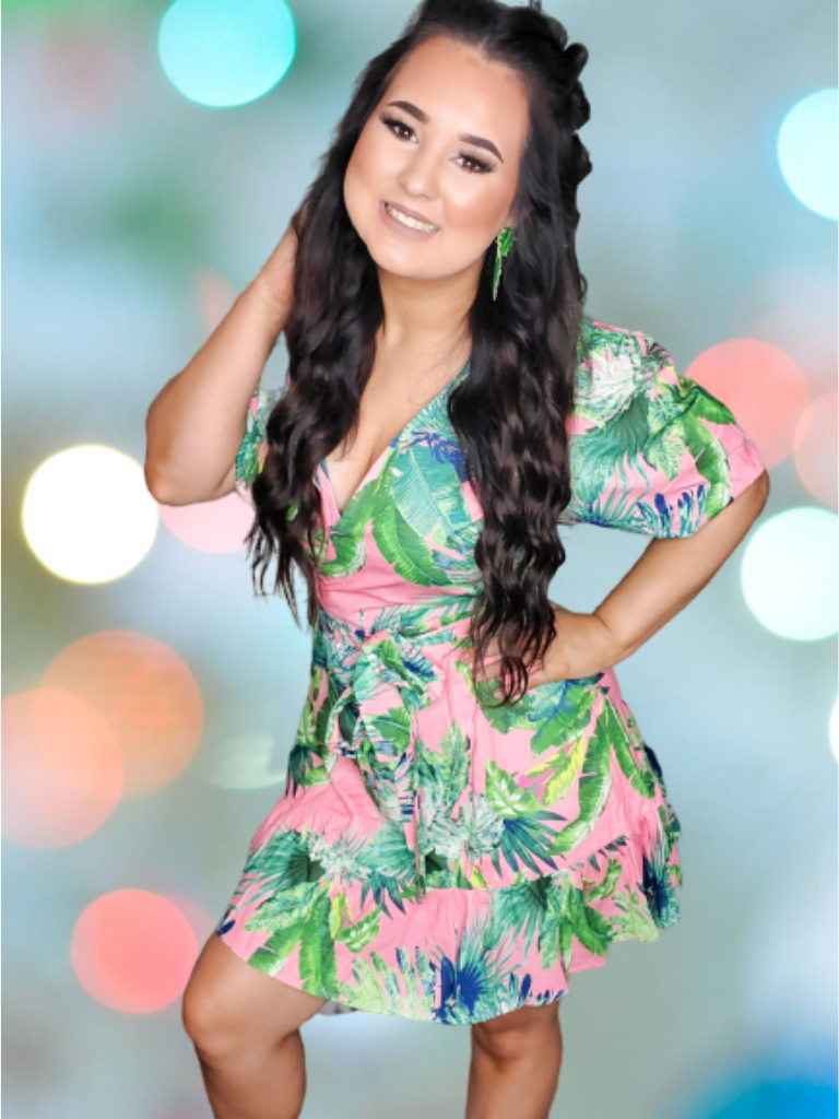 Tropical Fun Dress