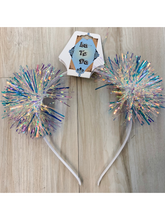 Load image into Gallery viewer, Iridescent Pom Pom Headband - 4 Colors!