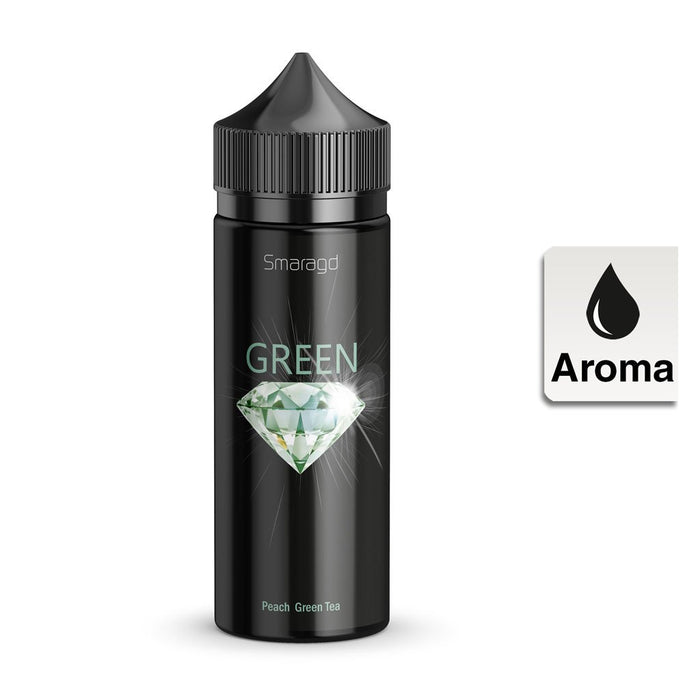 E-Liquid Aroma ULTRABIO Smaragd Green Longfill 10ml in 120ml Flasche