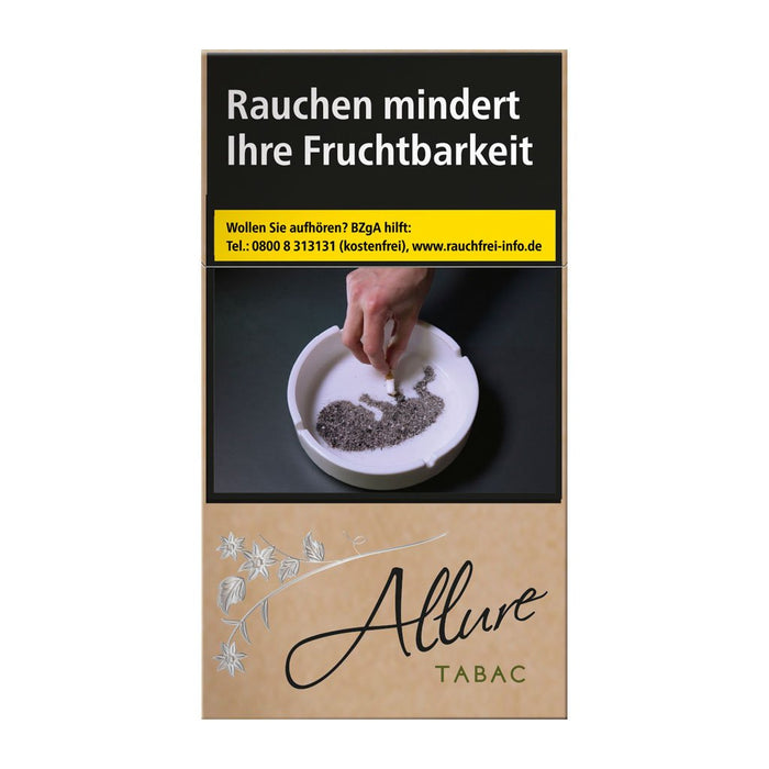 Allure Organic/ Tabac Super Slims XXXL 100