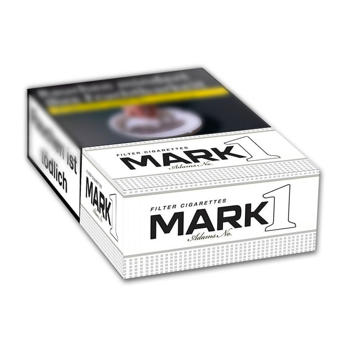 Mark Adams No.1 White